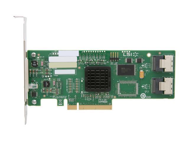 Intel 3Gb 8-Ports SAS//SATA RAID Controller SASUC8I L3-25071-00C E51681-150