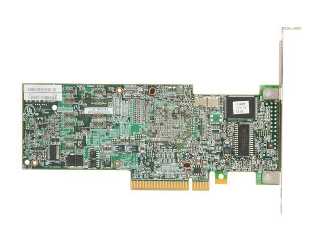 LSI LSI00197 PCI-Express 2 0 x8 SATA / SAS MegaRAID SAS 9260-4i Single -  Newegg com