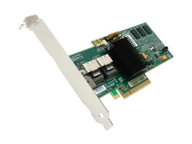 LSI MegaRAID 8708EM2 LSI00187 PCI-E SATA//SAS Raid Controller SAS 256MB Cache