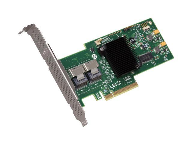 LSI LSI00200 (9240-8i Single) PCI-Express 2 0 x8 SATA / SAS MegaRAID SAS  9240-8i Single-pack - Newegg com