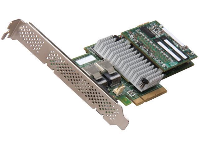 LSI MegaRAID Internal SAS 9265-8i 6Gb/s Dual Core ROC w/ 1GB cache memory  RAID Controller Card, Single - Newegg com