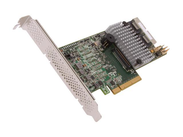 LSI MegaRAID LSI00295 (9266-8i SGL) PCI-Express 2 0 x8 Low Profile SATA /  SAS RAID Controller - Single--Avago Technologies - Newegg com