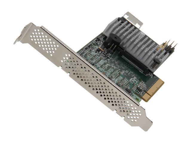 LSI MegaRAID LSI00305 (9266-4i SGL) PCI-Express 2 0 x8 SATA / SAS RAID  Controller - Single - Newegg com