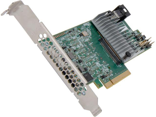 LSI 9300 MegaRAID SAS 9361-4i (LSI00415) PCI-Express 3 0 x8 SATA / SAS High  Performance Four-Port 12Gb/s RAID Controller (Single Pack)--Avago