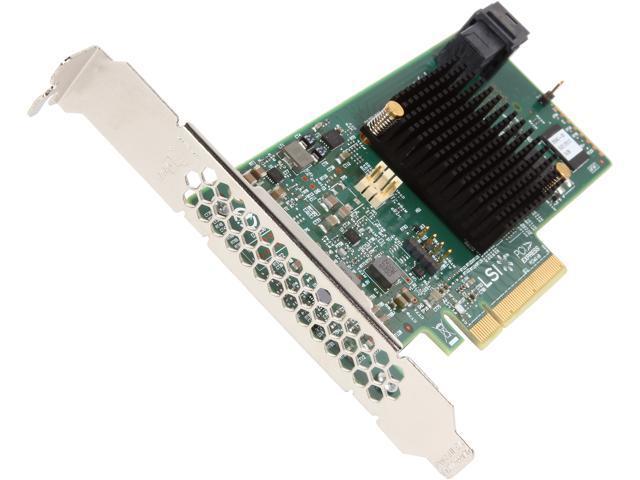 NEW LSI SAS 9341-8I 12GB 8PORT PC-E 3.0 SAS SATA RAID CONTROLLER US seller