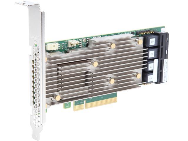 Open Box: LSI MegaRAID 9400 9460-16i x8 lane PCI Express 3 1 SAS, SATA,  PCIe (NVMe) Tri-Mode Storage Adapters - Newegg com