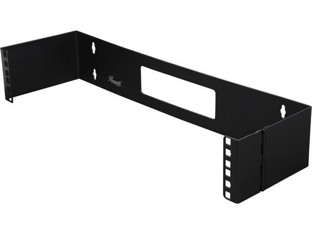 Rosewill 4U 19-inch Wall Mount Bracket for Patch Panel with Hinge RSA-4UBRA001