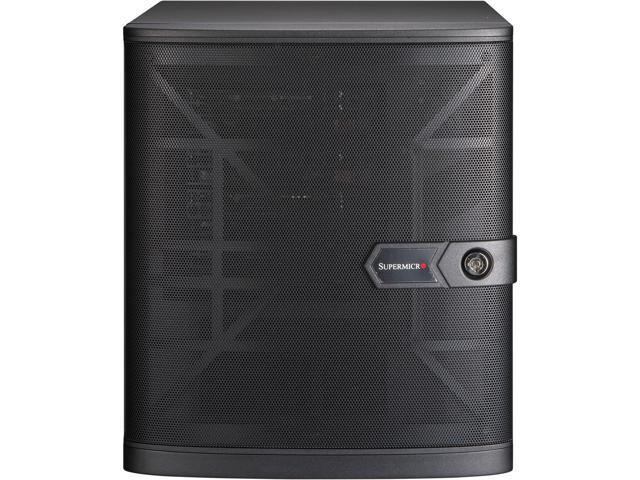 Supermicro Micro-tower, NAS, Cloud, Edge, Backup, Storage, Server Barebone  5029C-T, Intel C246 Chipset, Supports Intel Xeon E-2100 CPUs, 4 x