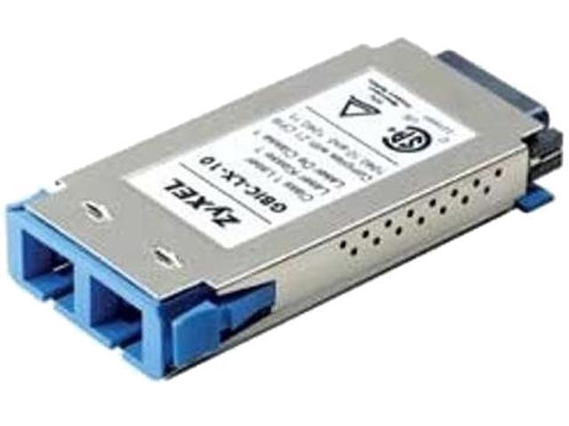 ZyXEL SFPLX10D LC 1310nm 10km (Single-Mode)/550m (Multi-Mode) Gigabit  Transciever DDMI Support - Newegg com