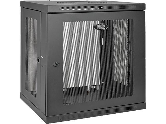 Tripp Lite 12u Wall Mount Rack Enclosure Cabinet Low Profile Switch Depth Srw12u Newegg Com
