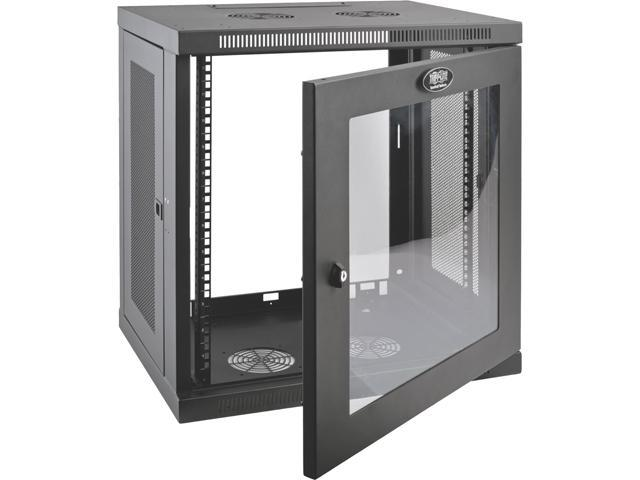 Tripp Lite 12u Wall Mount Rack Enclosure Server Cabinet W Glass Front Door Newegg Com