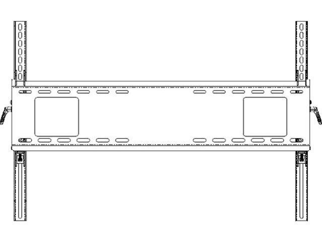 NEC WMK-6598 Large Tilt Wall Mount for Large Format Displays ... on