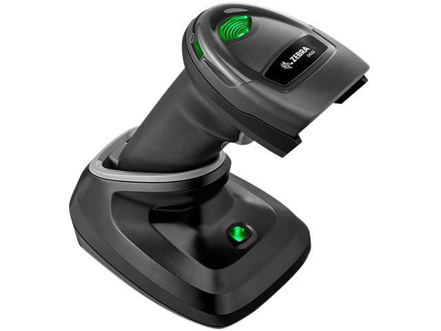 Zebra DS2278-SR Handheld Cordless 1D/2D Omnidirectional Barcode Scanner and  Area Imager, Standard Range, USB, RS232, KBW, IBM, Black, USB Kit -