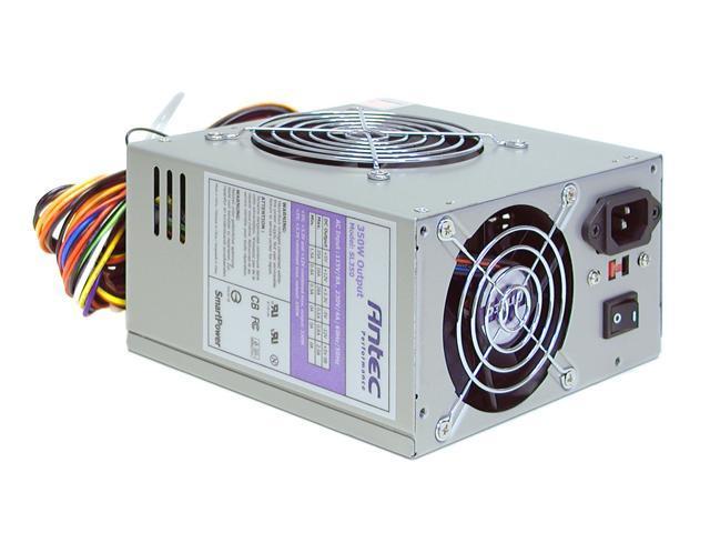 Antec SL350 350W ATX Power Supply - Newegg com