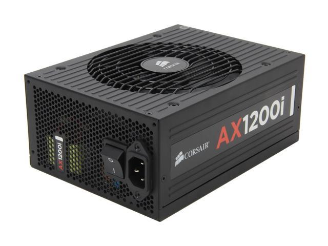 CORSAIR AXi Series AX1200i Digital 1200W 80 PLUS PLATINUM Haswell Ready  Full Modular ATX12V & EPS12V SLI and Crossfire Ready Power Supply with  C-Link