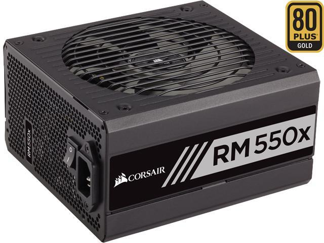 CORSAIR RMx Series RM550X 550W 80 PLUS GOLD Haswell Ready Full Modular ATX12V & EPS12V SLI and Crossfire Ready Power Supply