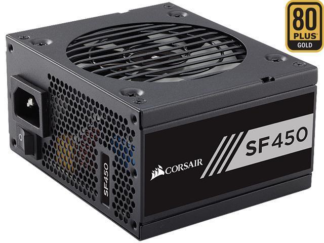 CORSAIR SF Series SF450 450W 80 PLUS GOLD Active PFC SFX SFX12V Micro ATX  Full Modular Power Supply - Newegg com