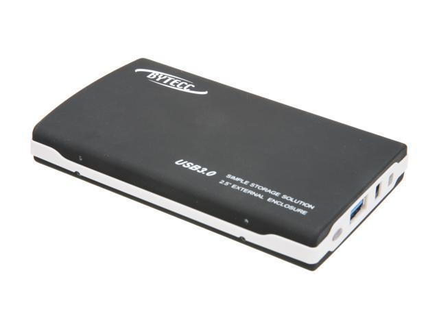 "Bytecc HD8-SU3 USB 3.0 Aluminum 2.5/"" Enclosure for SATA I//II Hard Drive"