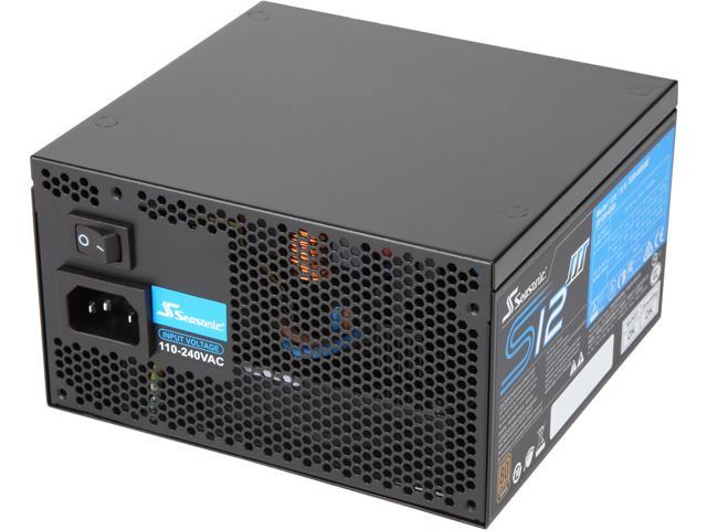 Bronze ATX12V /& EPS12V Direct Cable Wire Output Smart /& Silent Fan Control 5 Year Warranty Power Supply Seasonic S12III 550 SSR-550GB3 550W 80