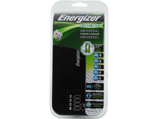 Energizer chfcv universal value charger, charges aa/aaa/c/d/9v.