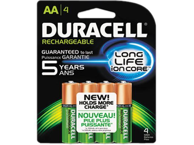 06539f8e267 DURACELL NiMH 1.5V 2400mAh AA Rechargeable Battery, 4-pack - Newegg.com