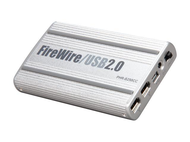 FIREWIRE USB 2.0 PHR-250CC DRIVER FOR WINDOWS 7