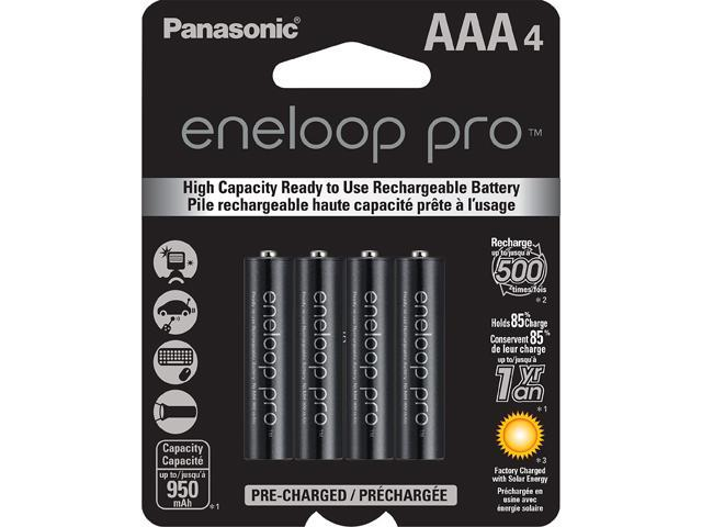 Panasonic Eneloop Pro Aaa 950mah 500 Cycle New High Capacity Ni Mh