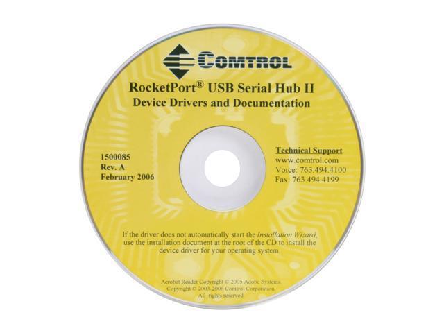 ROCKETPORT USB SERIAL HUB DRIVERS FOR WINDOWS VISTA