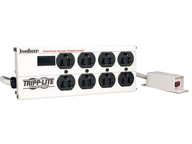 12ft Cord Tripp Lite Surge Suppressor 8 Outlet TRPISOBAR8ULTRA 3840 Joules