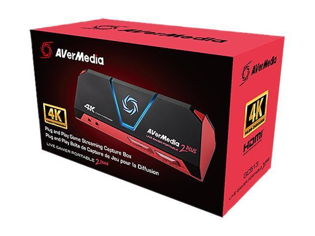 AVerMedia Live Gamer Portable 2 Plus GC513 4K Ultra HD - Newegg com