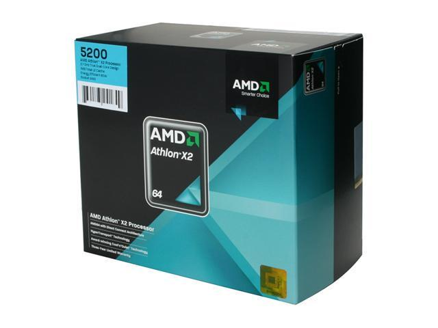 Amd Athlon 64 X2 5200 2 7 Ghz Socket Am2 Ado5200dobox Processor Newegg Com
