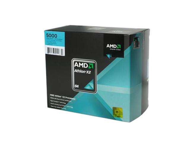 Amd Athlon 64 X2 5000 2 6 Ghz Socket Am2 Ado5000dobox Processor Newegg Com
