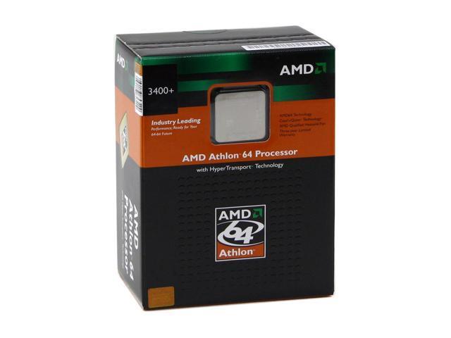 Amd Athlon 64 3400 Newcastle Single Core 2 4 Ghz Socket 754 Ada3400axbox Processor Newegg Com