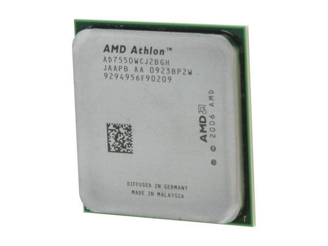AMD Athlon X2 7550 Kuma Dual-Core 2 5 GHz Socket AM2+ 95W AD7550WCJ2BGH  Processor - Newegg com