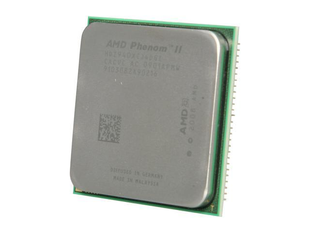 Amd Phenom Ii X4 940 Black Edition 3 0 Ghz Socket Am2 Hdz940xcj4dgi Processor Newegg Com