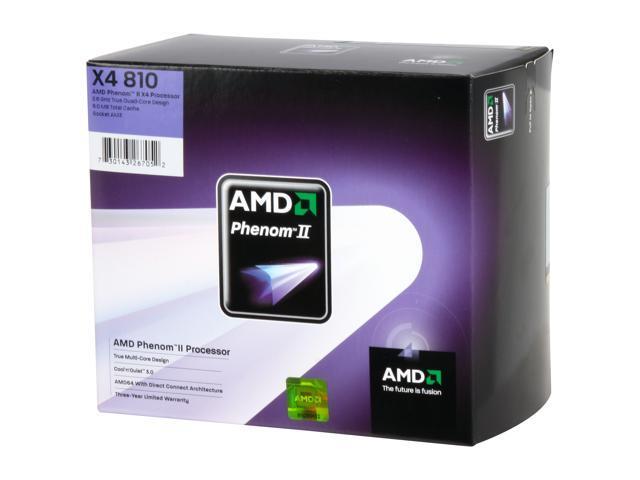 Amd Phenom Ii X4 810 2 6 Ghz Socket Am3 Hdx810wfgibox Processor Newegg Com