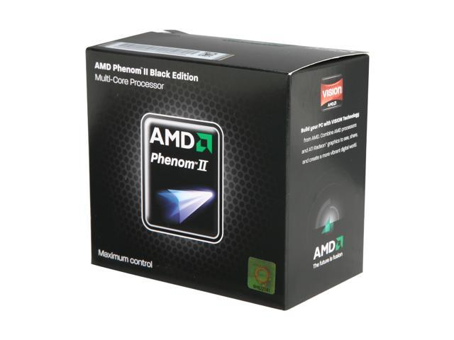 AMD Phenom II X4 965 125W 2000 MHz 3.4 GHz 2MB Socket AM3 CPU 100/% Work