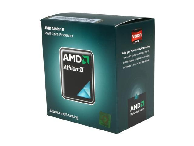 AMD Athlon II X3 440 Rana 3.0 GHz 3 x 512 KB L2 Cache Socket AM3 95W Triple-Core Desktop Processor Retail ADX440WFGMBOX