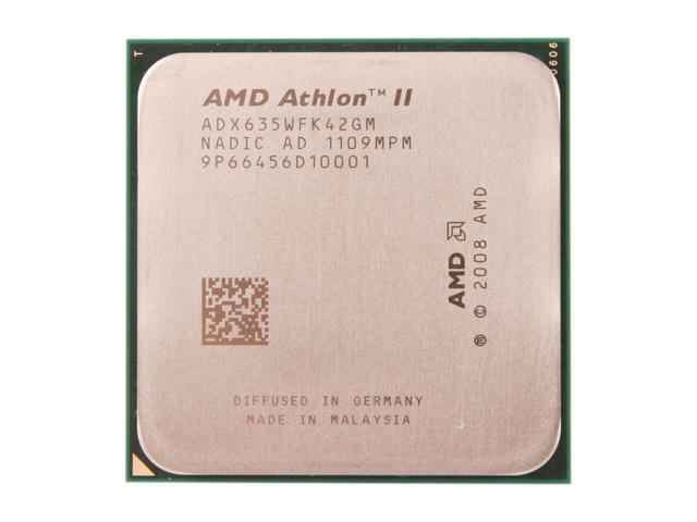 Amd Athlon Ii X4 635 2 9 Ghz Socket Am3 Adx635wfk42gm Desktop Processor Newegg Com