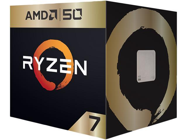 AMD Ryzen 7 2700X AMD50 Gold Edition 3 7 GHz (4 3 GHz Max Boost) Socket AM4  YD270XBGAFA50 Desktop Processor - Newegg com