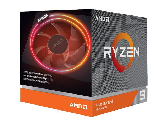 AMD RYZEN 9 3900X 12-Core 3 8 GHz (4 6 GHz Max Boost) Socket AM4 105W  100-100000023BOX Desktop Processor - Newegg com