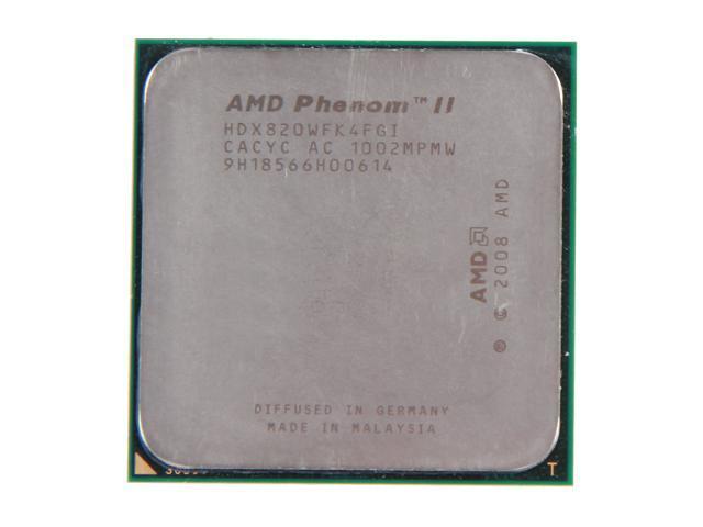 Refurbished Amd Phenom Ii X4 820 2 8 Ghz Socket Am3 Hdx820wfk4fgi Desktop Processor Newegg Com