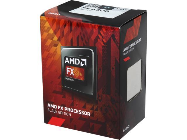 AMD FX-4300 3 8 GHz Socket AM3+ FD4300WMHKBOX Desktop Processor - Newegg com