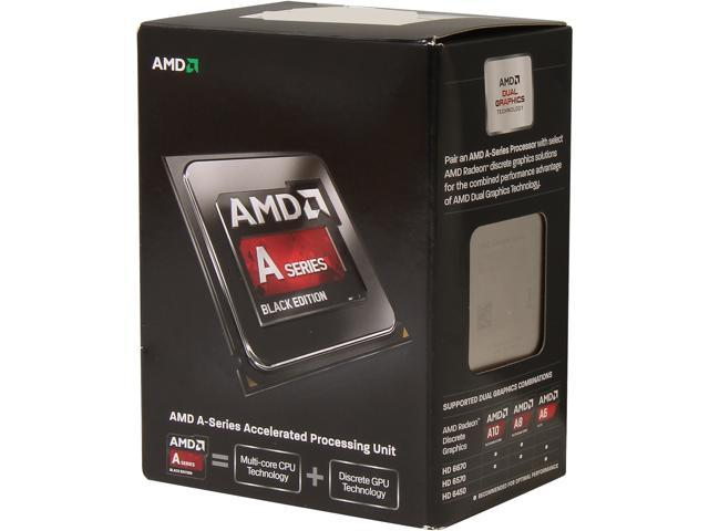Used - Like New: AMD A6-6400K 3 9 GHz Socket FM2 AD640KOKHLBOX Desktop  Processor - Black Edition - Newegg com