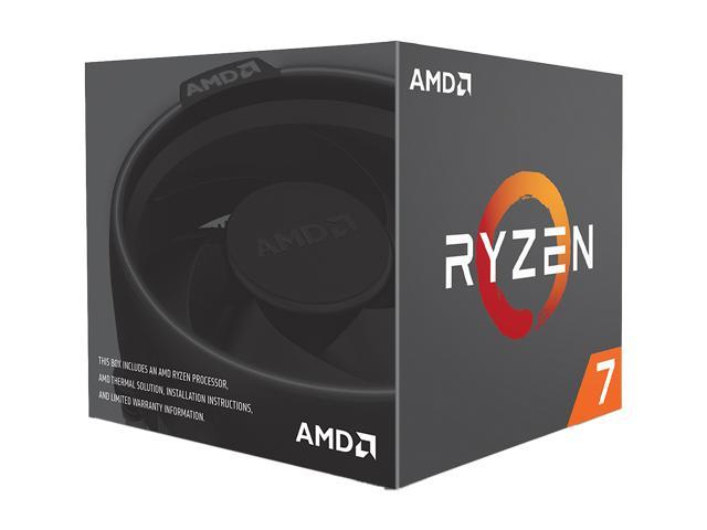 Amd Ryzen 7 1700 8 Core 3 0 Ghz 3 7 Ghz Turbo Socket Am4 Yd1700bbaebox Desktop Processor Newegg Com