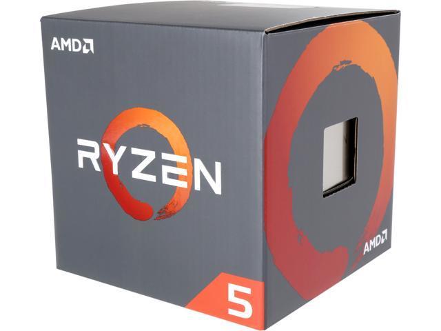 Processor Only AMD Ryzen 5 1600 3600GHz 6-Core YD1600BBAEBOX no fan