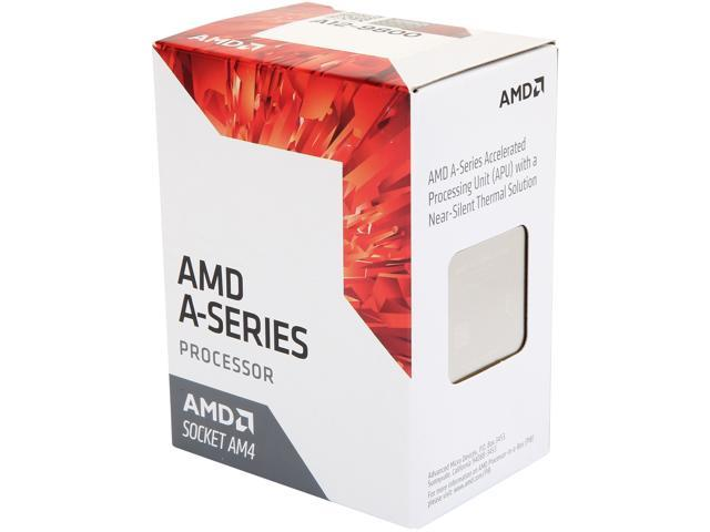 AMD AD9800AUABBOX 7th Generation A12-9800 Quad-Core Processor with Radeon R7 Graphics