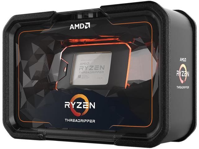 AMD 2nd Gen RYZEN Threadripper 2990WX 32-Core, 64-Thread, 4 2 GHz Max Boost  (3 0 GHz Base), Socket sTR4 250W YD299XAZAFWOF Desktop Processor -