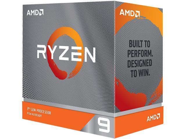 Amd Ryzen 9 3900xt 3 8 Ghz Socket Am4 100 100000277wof Desktop Processor Newegg Com