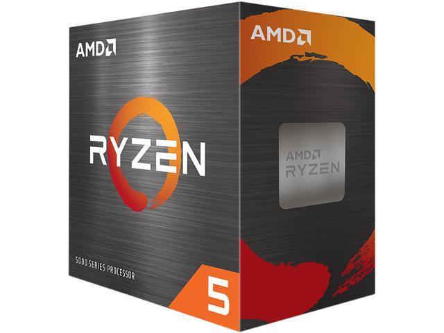 Image of AMD Ryzen 5 5600X - Ryzen 5 5000 Series Vermeer (Zen 3) 6-Core 3.7 GHz Socket AM4 65W Desktop Processor - 100-100000065BOX